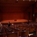 神奈川県立音楽堂の室内