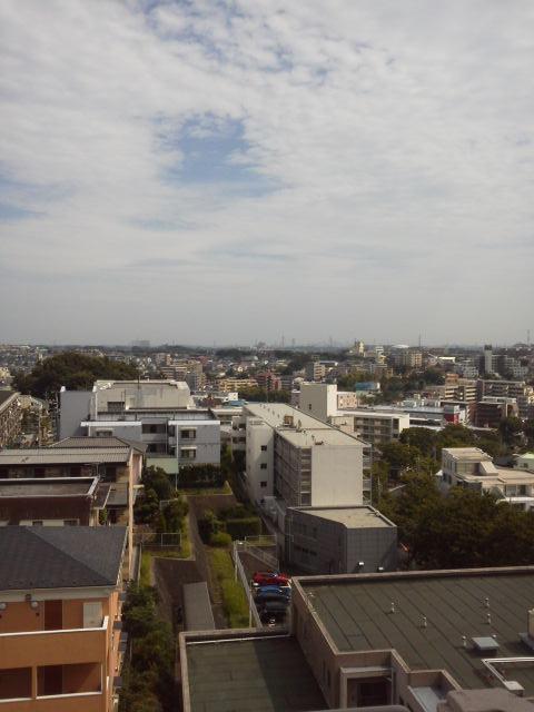 宮崎台ビューグリーン最上階からの眺望